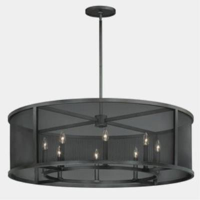 Vaxcel Lighting P0104 Wicker Park - Eight Light Pendant