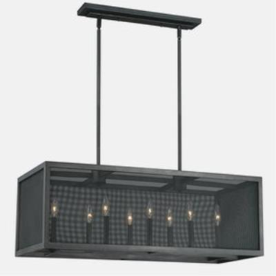 Vaxcel Lighting P0105 Wicker Park - Eight Light Pendant