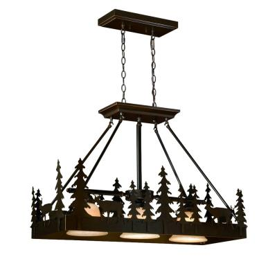 Vaxcel Lighting PD55436BBZ Bryce - Three Light Pendant