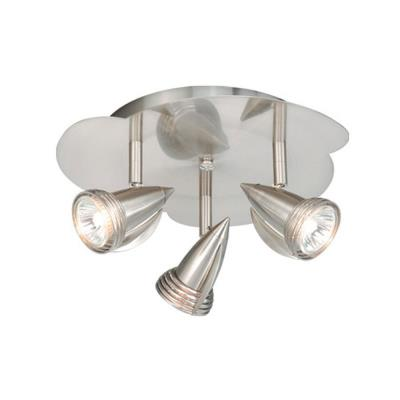 Vaxcel Lighting SP34124SN Three Light Line Voltage Ceiling Mount