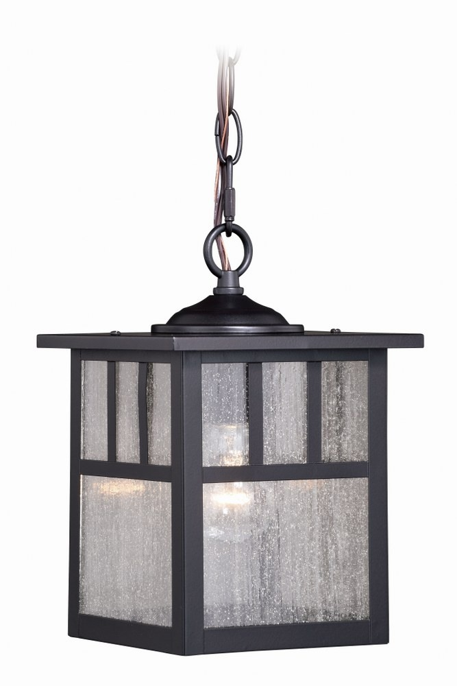 """Vaxcel Mission 12/"""" Outdoor Ceiling Light Burnished Bronze OF37211BBZ"""