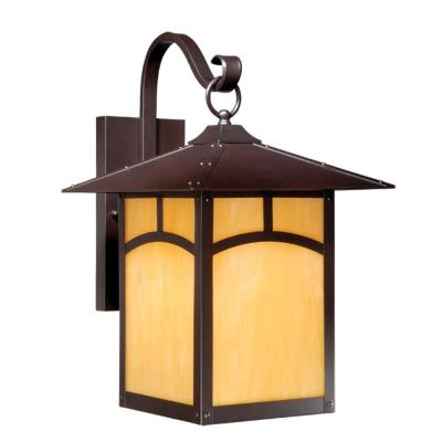 Vaxcel Lighting TL-OWD110EB Taliesin - One Light Outdoor Wall Mount