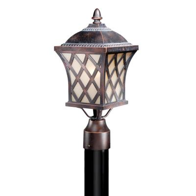 Vaxcel Lighting YS-OPU070CF Yorkshire - One Light Outdoor Post Mount