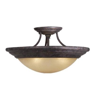 "Vaxcel Lighting CC32714 Tertial - 14"" Semi-Flush Ceiling Mount"