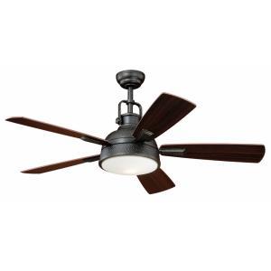 """Walton - 52"""" Ceiling Fan with Light Kit"""