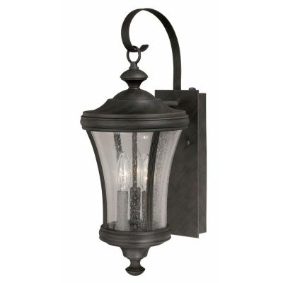 Vaxcel lighting t0147 hanover 21 three light outdoor wall vaxcel lighting t0147 hanover 21quot three light outdoor wall lantern aloadofball Images