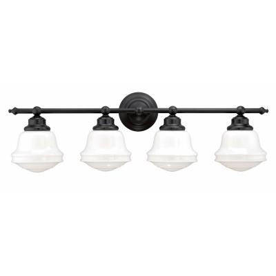 sc 1 st  Vaxcel Lighting Lights & Vaxcel Lighting - W0172 - Huntley - Four Light Bath Vanity azcodes.com