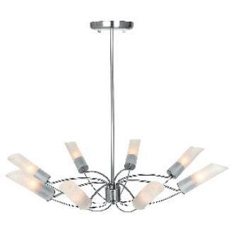 Access Lighting 50509 Solar - Eight Light Chandelier