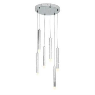 Access Lighting 70050LED-CH/ACR Rain- LED Pendant