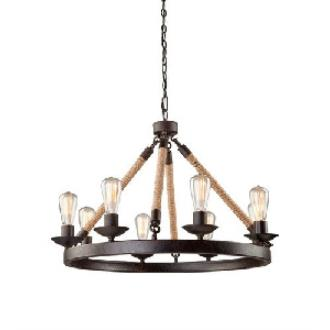 Artcraft Lighting CL278 Danbury - Eight Light Chandelier