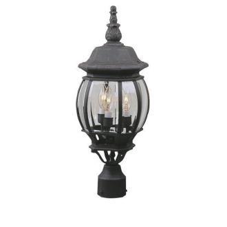 Craftmade Lighting Z335 French Style - Three Outdoor Medium Post Light
