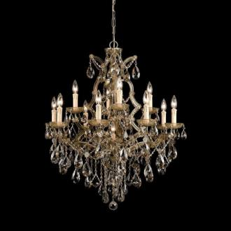 Crystorama Lighting 4413 Maria Theresa - Twelve Light Chandelier