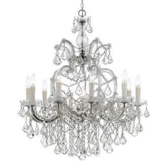 Crystorama Lighting 4438 Maria Theresa - Eleven Light Chandelier