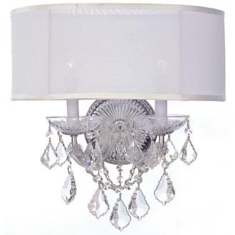 Crystorama Lighting 4482 Brentwood - Two Light Wall Sconce