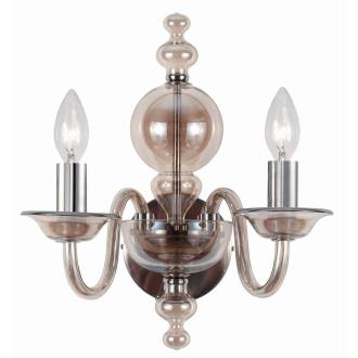 Crystorama Lighting 9842 Harper - Two Light Wall Sconce
