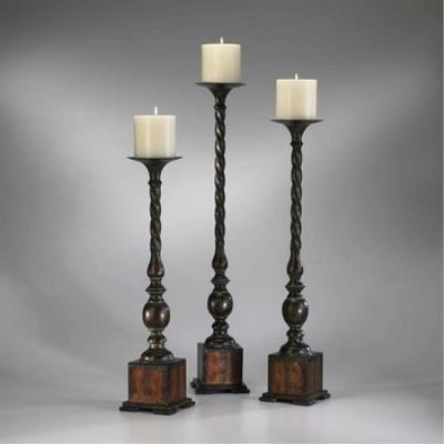 "Cyan lighting 01320 Quaker - 29.75"" Large Floor Candleholder"