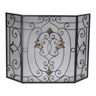 "Cyan lighting 01351 50"" Franch Fire Screen"