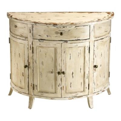 "Cyan lighting 04259 Gable - 15.5"" Distressed Chest"