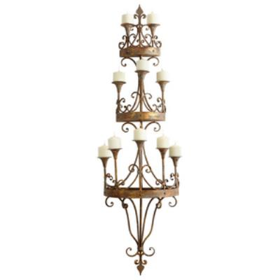 "Cyan lighting 05961 Eastnor - 64"" Wall Decorative Candleholder"