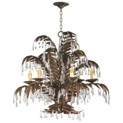 Cyan lighting 6507-6-17 Largo - Six Light Chandelier