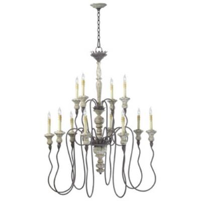 Cyan lighting 6513-12-43 Provence - Twelve Light Chandelier