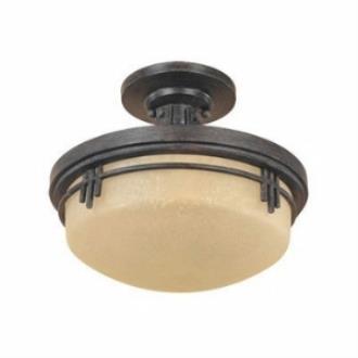 Designers Fountain 82111-WM 2-Light Semi Flush