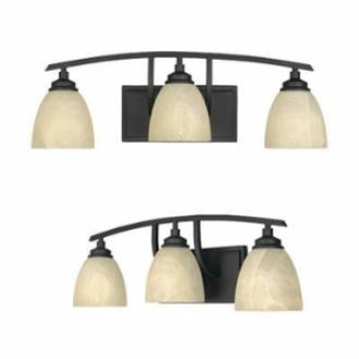 Designers Fountain 82903 Tackwood - Three Light Bath Bar
