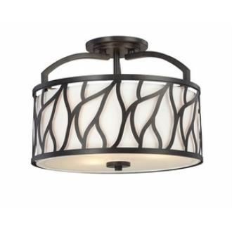 Designers Fountain 83711-ART Modesto - Three Light Semi-Flush Mount