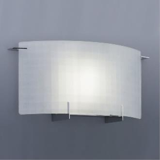 Designers Fountain 6040-CH Wall Sconce With Etched Glass