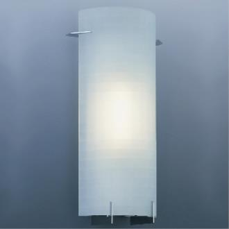 Designers Fountain 6041-CH 1 Light Sconce With Etched Glass