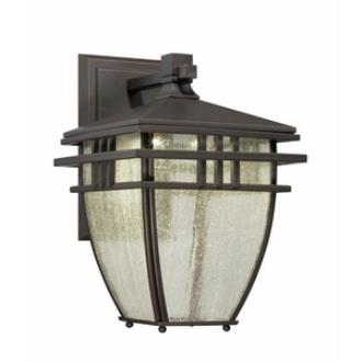 "Designers Fountain LED30821-ABP Drake - 9"" Outdoor Wall Lantern"