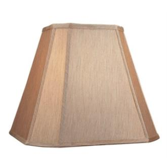 """Dolan Lighting 140121 Accessory - 12"""" Large Square Cut Corner Straight Side Shade (Sold as a 4 Pack)"""