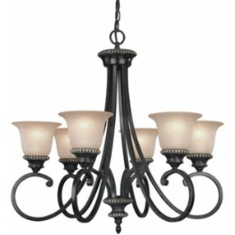 Dolan Lighting 1750-148 Hastings - Six Light Chandelier