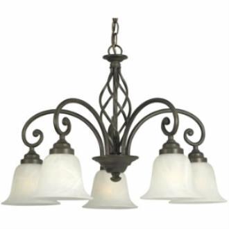 Dolan Lighting 185-34 Wicker Park - Five Light Chandelier