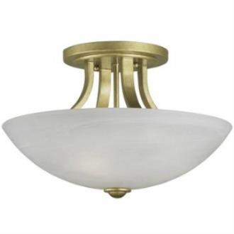 Dolan Lighting 204-09 Fireside - Three Light Semi - Flush Mount