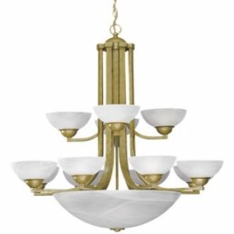 Dolan Lighting 206 Fireside - Fifteen Light Two Tier Chandelier