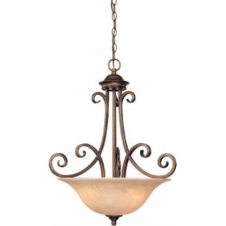 Dolan Lighting 2094-133 Medici - Three Light Bowl Pendant