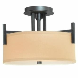 Dolan Lighting 2945-34 Tecido - Two Light Semi-Flush Mount