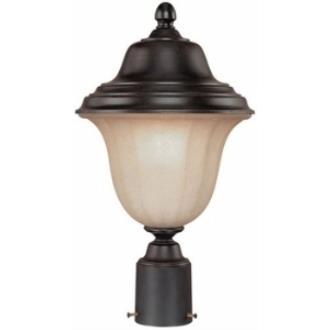Dolan Lighting 9126-68 Helena - One Light Outdoor Post Lantern