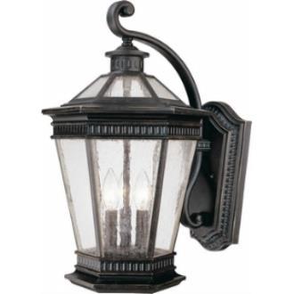 Dolan Lighting 9198-68 Vintage - Three Outdoor Post Light