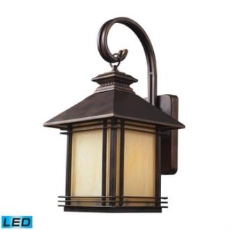 Elk Lighting 42101/1-LED Blackwell - One Light Outdoor Wall Sconce