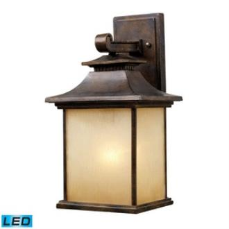 Elk Lighting 42181/1-LED San Gabriel - One Light Outdoor Wall Sconce