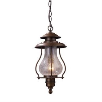 Elk Lighting 62006-1 Wikshire - One Light Outdoor Pendant