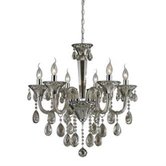 Elk Lighting 80022/6 Formont - Six Light Crystal Chandelier