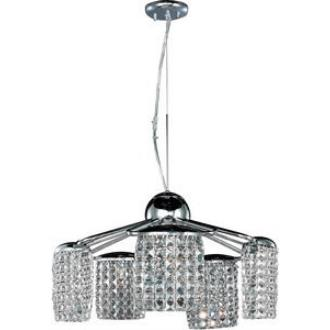 ET2 Lighting E20568-20PC Tartan - Five Light Chandelier