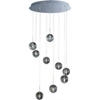 ET2 Lighting E24254-91PC Orb - Nine Light Pendant
