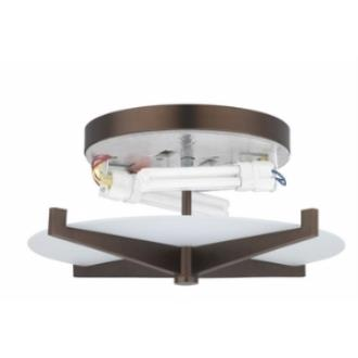 Forecast Lighting FB1855-70U Fisher Island - Fluorescent Two Light Flush Mount