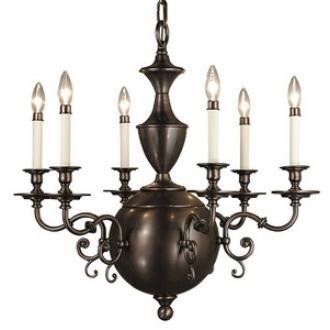 Framburg Lighting 1886 Windsor - Six Light Chandelier