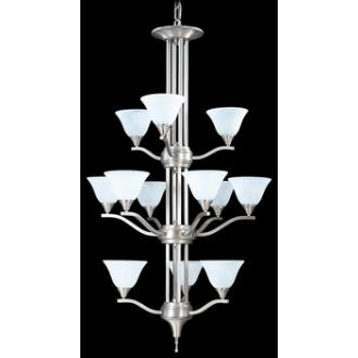 Framburg Lighting 9312 Bellevue - Twelve Light Chandelier
