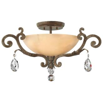 Fredrick Ramond Lighting FR44104SLF Barcelona - Three Light Semi-Foyer